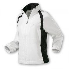 Head Club Suit Jacket - Schicke, wärmende Head Trainingsjacke für Damen mit Stehkragen, durchgehendem Reißverschluss und 2 Seitentaschen. Die Cool & Dry Technologie sorgt für ein perfektes Feuchtigkeitsmanagement und angenehmen Tragekomfort.     http://www.centercourt.de/Tennisbekleidung/Damen/Head-Club-Suit-Jacket-white/black-1.html