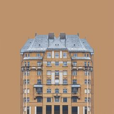 Zsolt Hlinka has created Urban Symmetry, a Wes Anderson reminiscent photo series depicting perfectly-symmetrical buildings on the banks of the Danube River. Using partial photos of the buildings, Hlinka creates fictitious compositions through reflections, resulting in new personalities and character in the portraits.
