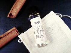 La Reine Noire  Cinnamon And Osmanthus Perfume Sample  by Leculier, $25.00