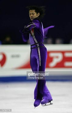 Daisuke Takahashi of Japan performs during a Men Free skating for the International Skating Union Four Continents Figure Skating Championships 2008...
