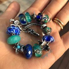 Blue and teal #trollbeads #eskestorm #luccicare