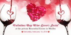 #Vday is days away, meaning the Valentines Day Wine Lover's Social at the Rosenthal- #Malibu Estate Wines is almost upon us! Don't miss an amazing afternoon of music & sipping on premium Rosenthal and Surfrider wines at one of the most breathtaking properties around.   When: Saturday, February 14th @ 12:30 PM  Where: Malibu, CA on Malibu Newton Canyon  You can order tickets and learn more here:  https://www.eventbrite.com/e/l7-valentines-day-wine-lovers-social-tickets-15636847231