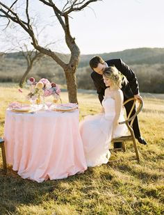 chivalry at dinner for two #brideandgroom #valentinesday #weddingchicks http://www.weddingchicks.com/2014/02/14/dinner-for-two-wedding-ideas/