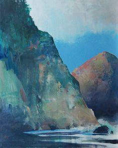 Neahkanie Cliff acrylic 20x16