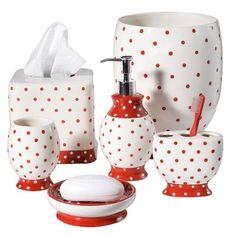 I adore red polka dots!