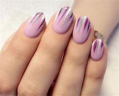 Simple and Easy Ombre Waterfall Nails Ideas Waterfall Nails, Ombre Waterfall Nails Accent,Holographic Waterfall Nail Art, Waterfall Nails Step By Step Tutorial, Ombre Nails Diy Nails, Cute Nails, Pretty Nails, Winter Nails, Summer Nails, Two Tone Nails, Nagel Gel, Holographic Nails, Purple Nails