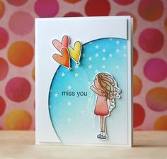 Such an Awesome card by Laura Bassen using Lila's Heart by Simon Says Stamp.