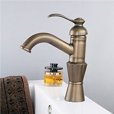 Antique Brass Finish Centerset Single Handle Bathroom Sink Faucet(Tall) - See more at: http://www.homelava.com/en-antique-brass-finish-centerset-single-handle-bathroom-sink-faucet-tall-nbsp-p4186.htm#sthash.SsMYUgXD.dpuf