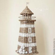 Детская ручной работы. Ярмарка Мастеров - ручная работа. Купить Новый Маяк плетеный интерьерный Style Marin. Handmade. Маяк