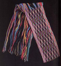 Finger Weaving, Native American Art, First Nations, Textile Art, Sash, Textiles, Native Americans, Iowa, Moccasins