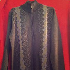 Men's Large Argil Sweater w/ Zipper Men's Large Argil Sweater w/ Zipper never worn In wonderful condition Sweaters Cardigans