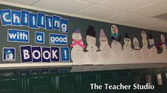 """Fourth Grade Studio: Learning, Thinking, Creating: """"Chilling Out"""" with a great book!"""