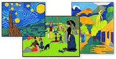Art Murals for Kids: Mini Impressionist Mural Set