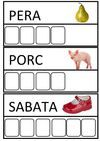 GATGAT GOS SOFÀ Catalan Language, Math Numbers, Education, Early Education, Writing Activities, Infant Learning Activities, Kids Worksheets, Teaching French, Pork