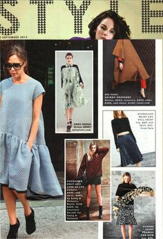 Sunday Times Style - AW13 Painters Palette Dress