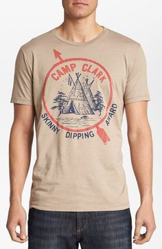 Junk Food 'Camp Clark' T-Shirt | Nordstrom