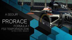 Gp de Formula 1 - Liga Prorace F1 Brasil PS3 - 7ª Etapa - Bélgica