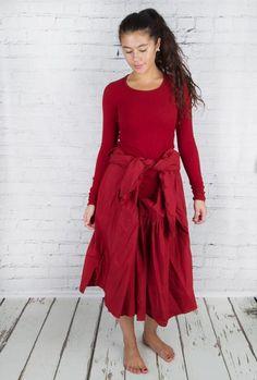 #Rundholz #dress #rh15521 #red #winter #season #fashion #walkers #tie #layers