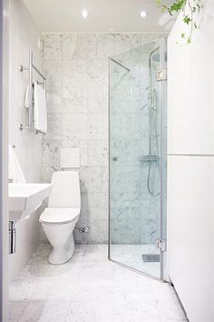 White Marble Bathroom Tiles