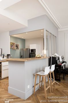 Ремонт d'квартира, бывший в Лионе 03, Марион Lanoë - в Сторону Дома