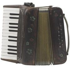 Accordion.  My Brother still plays one today and gets paid well