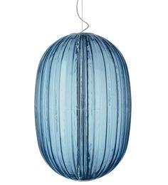 Plass pendant by Foscarini. Design: Luca Nichetto. #homedecor #decoration #home #blue #lighting