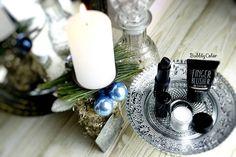 """I wish all of you a joyful Advent season ❤  #bbloggers #beauty #beautyblogger #advent #festive #lipstick #lipcolor #candle #ibloggers #blush #eyeshadow…"""