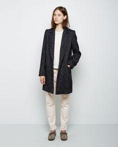 Isabel Marant Étoile  Daphne Herringbone Coat
