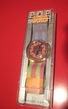 Pop Swatch...had 2 or 3 of these.
