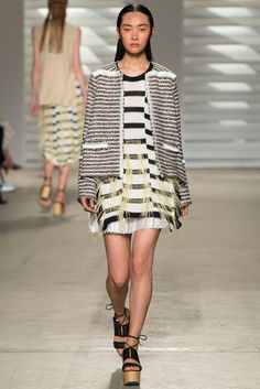 Thakoon Spring 2015 Ready-to-Wear - Collection - Gallery - Look 1 - Style.com