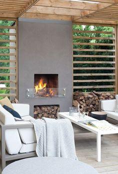 Pergola For Small Patio Refferal: 9046387638 Patio Seating, Pergola Patio, Diy Patio, Backyard Patio, Patio Ideas, Patio Stone, Cement Patio, Patio Privacy, Flagstone Patio