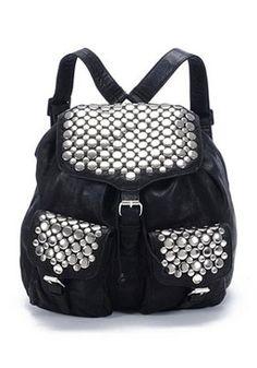 рюкзак в стиле Рок