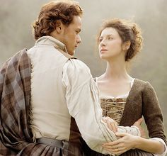 Take me to Lallybroch • outlander-news:     Sam Heughan and Caitriona...