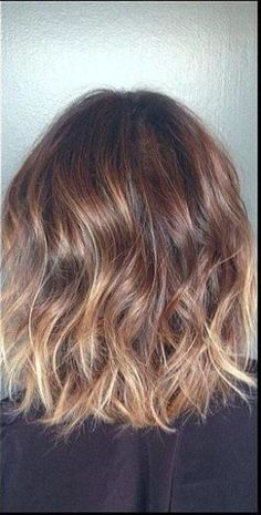subtle brunette ombre and highlights. I want this for my next hair appointment! by robyn
