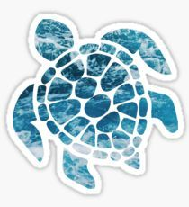 """Ocean Sea Turtle"" Stickers by Stickers Cool, Red Bubble Stickers, Tumblr Stickers, Phone Stickers, Printable Stickers, Preppy Stickers, Macbook Stickers, Aesthetic Stickers, Laptop Stickers"