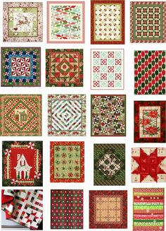 Quilt Inspiration: Free pattern day ! Christmas - Part 3. Updated August, 2014. New patterns were added.