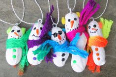 Homemade Christmas ornaments by Modern Vintage Jewelry