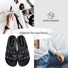 Shop powered by PrestaShop Fashion Slippers, Spring Summer, Shopping, Image