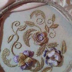 Hand Embroidery Dress, Beaded Embroidery, Embroidery Patterns, Machine Embroidery, Motif Design, Handmade Flowers, 9 And 10, Cuff Bracelets, Brooch