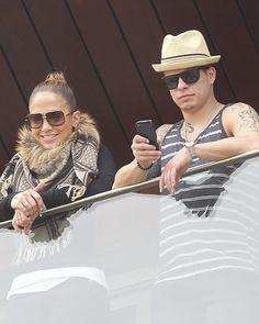 Jennifer Lopez in love