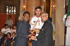 Natarajan was conferred 'PadmaShri' for work in field of Medicine by President of India. PadmaShri is the highest Civilian award in India The 4, Presidents, Awards, Medicine, India, Fashion, Moda, Delhi India, Fasion