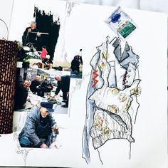ARTS THREAD Profile - ARTS THREAD Textiles Sketchbook, Fashion Design Sketchbook, Fashion Design Portfolio, Art Portfolio, Art Sketchbook, Illustration Story, Fashion Illustration Sketches, Graphic Design Illustration, Medical Illustration