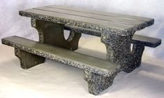 Urban Commando Concrete Picnic Table