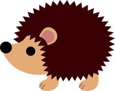 hedgehog silhouettes free   Cute Hedgehog Clip Art