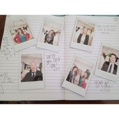 Wedding idea: get a polaroid camera, put on a table with a notebook, some glue sticks and pens and get guests to take photos of each other. Stick them in book and leave a little love note for the happy couple!