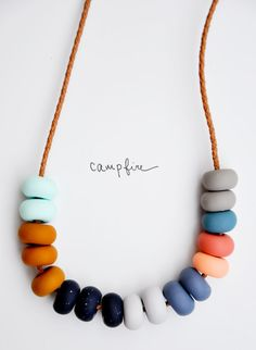 Color Study Necklace