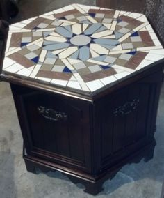 New Table I did, I call it PINWHEEL