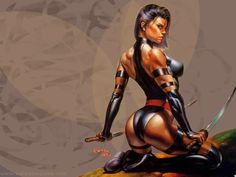 #Top10 #sexiest female #superheroes #comics (polish language)