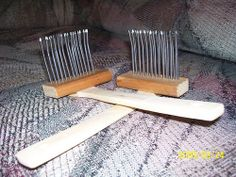 How to make your own wool combs