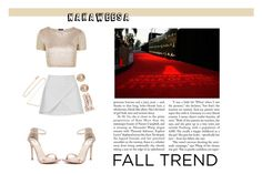 """Red Carpet Rose Gold"" by nakaweesa ❤ liked on Polyvore featuring moda, Windsor Smith, Topshop, Michael Kors, Anita Ko, Diane Kordas e rosegold"